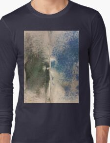 Smudges 2 in Oil Pastel Long Sleeve T-Shirt