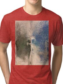 Smudges 2 in Oil Pastel Tri-blend T-Shirt