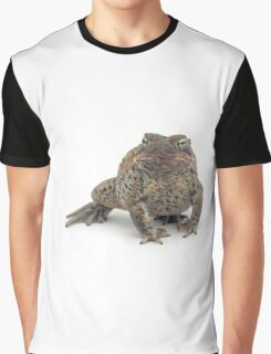 Toad Isolated on White Graphic T-Shirt