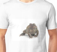 Toad Isolated on White Unisex T-Shirt