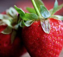 Strawberries -Still Life Sticker