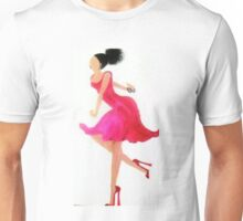 Red Dancing Shoes Unisex T-Shirt
