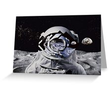 Spaceman oh spaceman Greeting Card