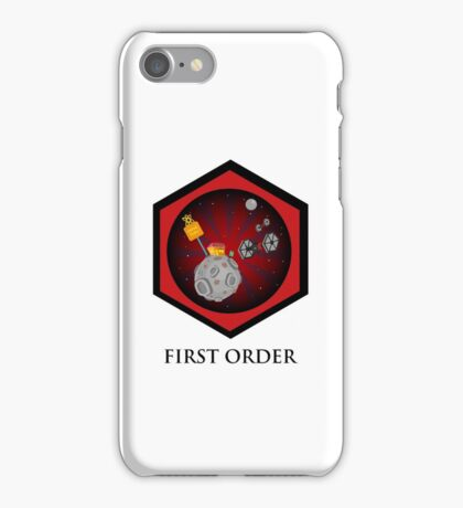 First Order - Drive Thru in the Galaxy Far Far Away iPhone Case/Skin