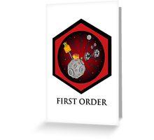 First Order - Drive Thru in the Galaxy Far Far Away Greeting Card