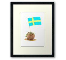 Swedish Meatballs Framed Print