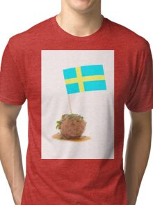 Swedish Meatballs Tri-blend T-Shirt