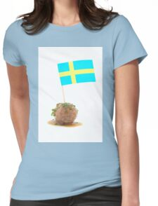 Swedish Meatballs Womens Fitted T-Shirt