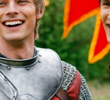Merlin and Arthur being dorks - Merthur -  Sticker