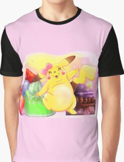 Pretty Pika Graphic T-Shirt