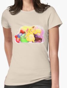 Pretty Pika Womens Fitted T-Shirt