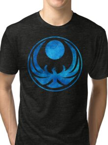 Blue Nightingale Tri-blend T-Shirt