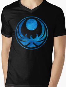 Blue Nightingale Mens V-Neck T-Shirt
