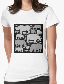RHINOS Womens Fitted T-Shirt