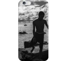 Sunset on the Pier iPhone Case/Skin