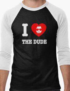 Love the Dude Men's Baseball ¾ T-Shirt