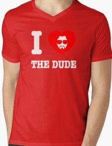 Love the Dude Mens V-Neck T-Shirt