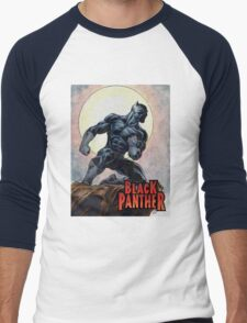 Black Panther Men's Baseball ¾ T-Shirt