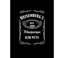 Heisenberg's Blue Meth Photographic Print