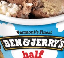Ben and Jerry's Half-baked Sticker