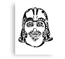 Tribal Vader Canvas Print