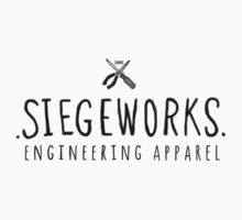Siegeworks engineering apparel by Siegeworks .