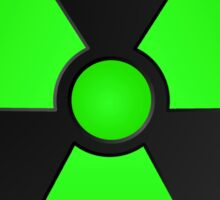 Radioactive Fallout Symbol Sticker