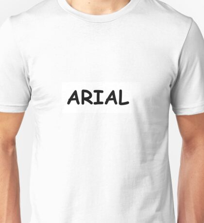 ARIAL COMIC IRONY Unisex T-Shirt