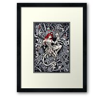 Rat Queen Framed Print