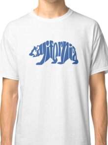 Blue California Bear Classic T-Shirt