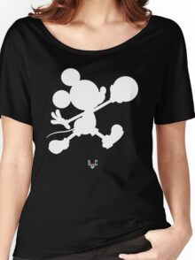 Bucket Club Mickey Jumpman Women's Relaxed Fit T-Shirt