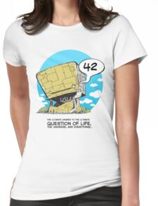 42 Womens Fitted T-Shirt