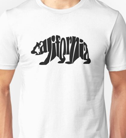 black california bear Unisex T-Shirt