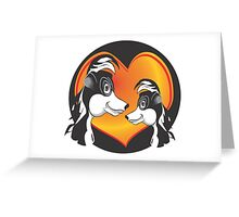 SKUNK LOVE Greeting Card