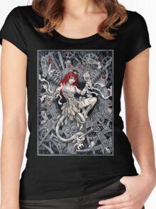 Rat Queen Women's Fitted Scoop T-Shirt