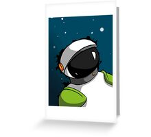 Astronaut in Space for Kids Greeting Card