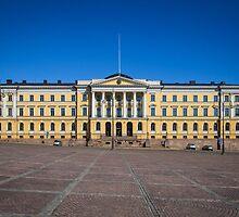 Helsinki Senate Square by Maciej Nadstazik