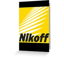 Nikoff  Greeting Card