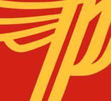 'P' logo Sticker