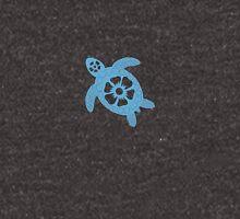 batik-turtle Zipped Hoodie