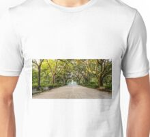 Benches in Forsyth Park Unisex T-Shirt