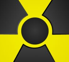 Radioactive Fallout Symbol Stickers - Science Nerd Geek Gamer Sticker