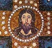 Mosaic of Jesus by Factory23