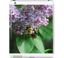 Collecting Nectar from the Lilacs iPad Case/Skin