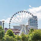 Ferris Wheel in Atlanta by dbvirago