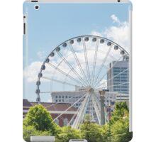 Ferris Wheel in Atlanta iPad Case/Skin