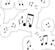 Musical notes Sticker