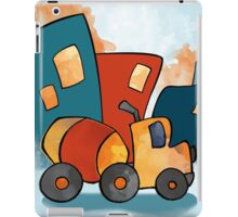 Cement Mixer Construction Truck for Kids iPad Case/Skin