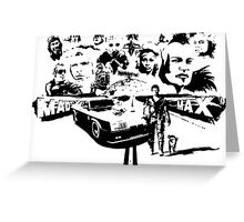 Mad Max Tribute Greeting Card