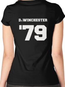 D. Winchester Women's Fitted Scoop T-Shirt